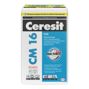 Ceresit CM 16 Flex Эластичный клей для всех видов плитки, 25 кг_0