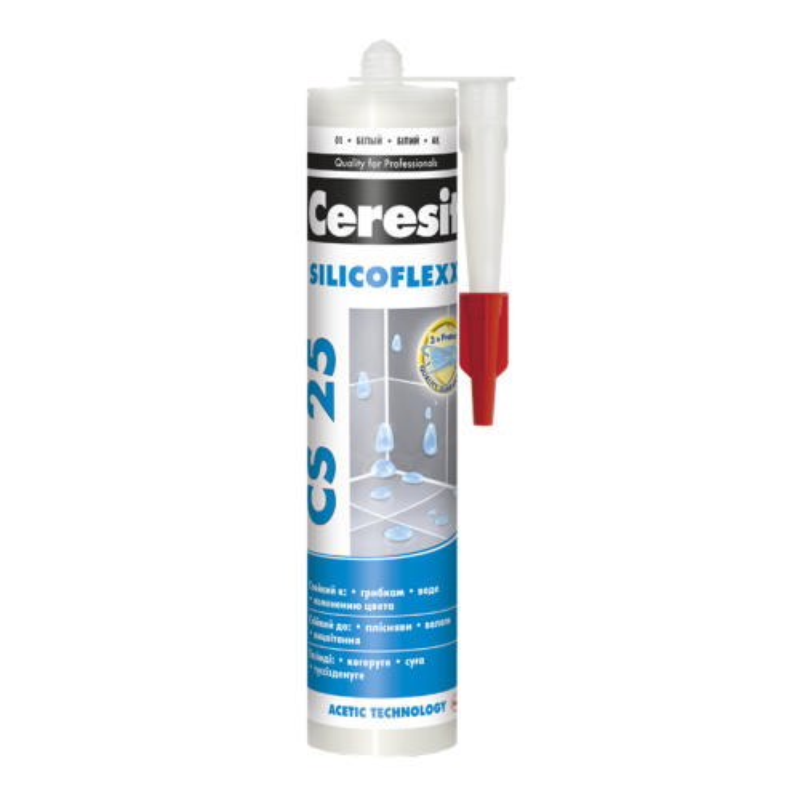 Ceresit CS 25 Затирка для стыков силиконовая