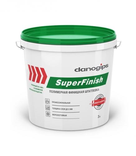 Danogips SuperFinish (Шитрок) Шпатлевка полимерная готовая к применению