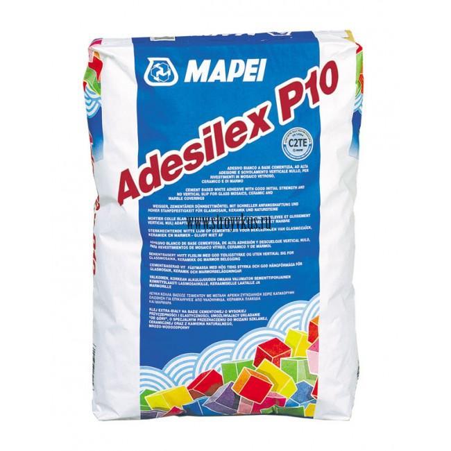 Mapei Adesilex P10 Белый клей для мозаики, 25 кг
