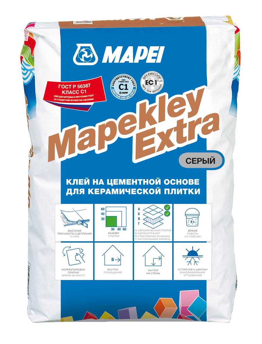 Mapei Mapekley Extra Клей для плитки, 25 кг