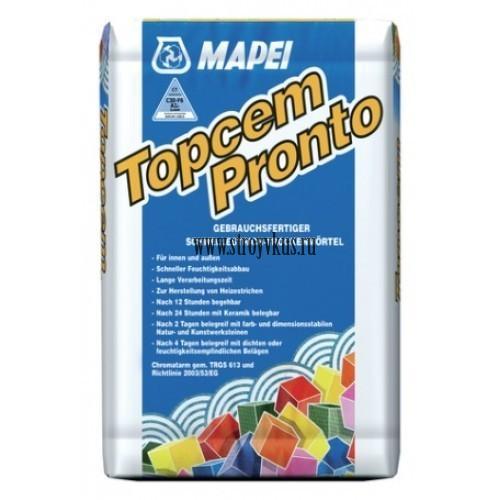 Mapei Topcem Pronto быстросохнущая стяжка
