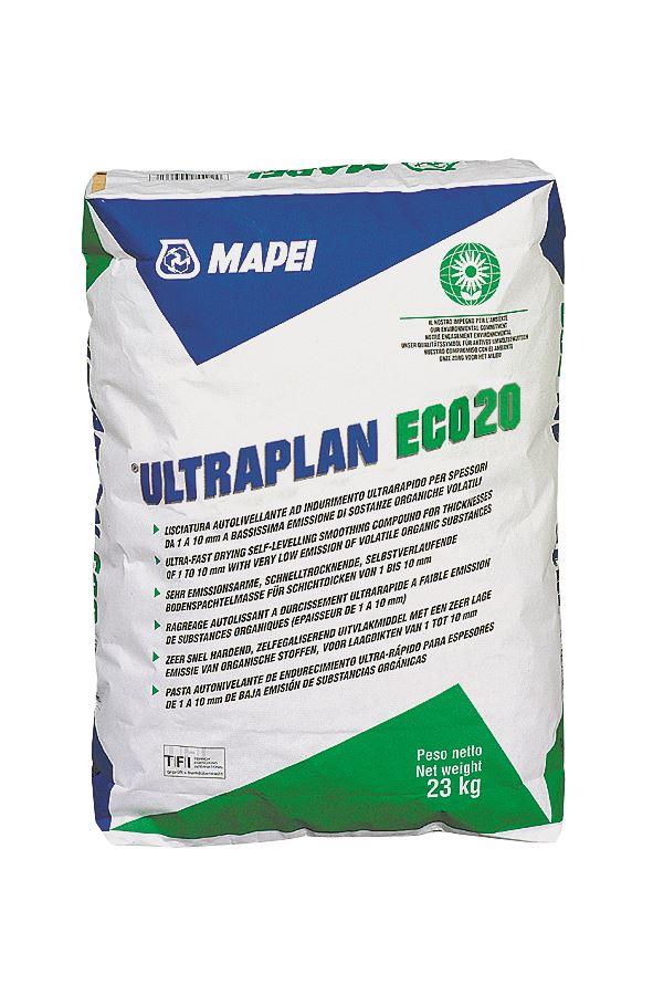 Mapei Ultraplan Eco 20 Самовыравнивающаяся смесь 1-10мм