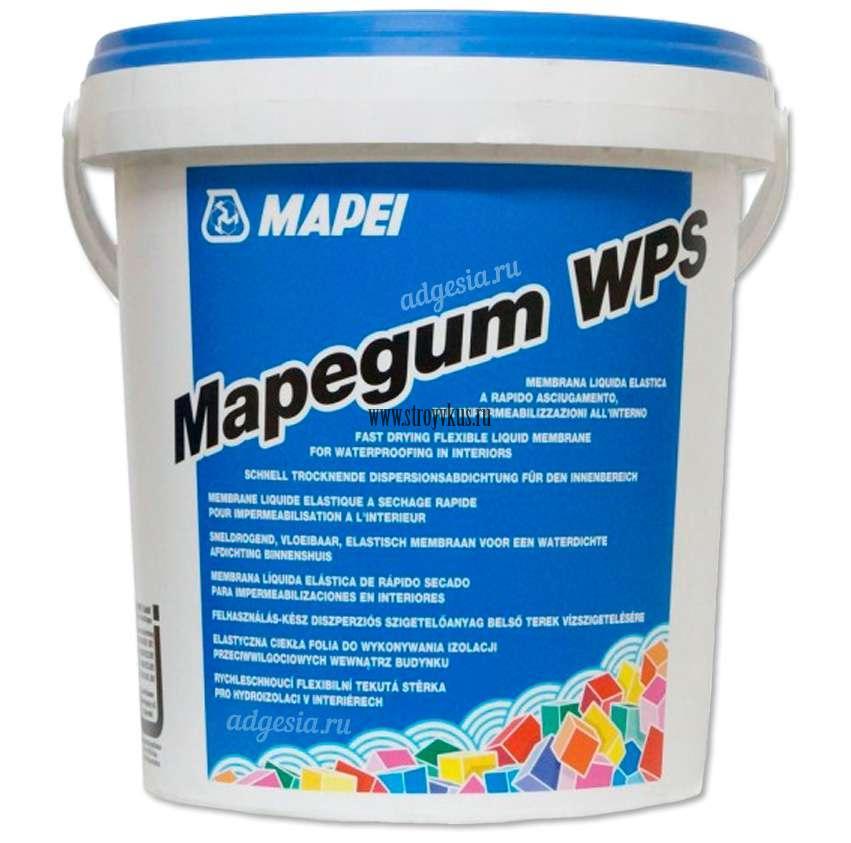 Mapei Mapegum WPS Эластичная быстросохнущая гидроизоляция