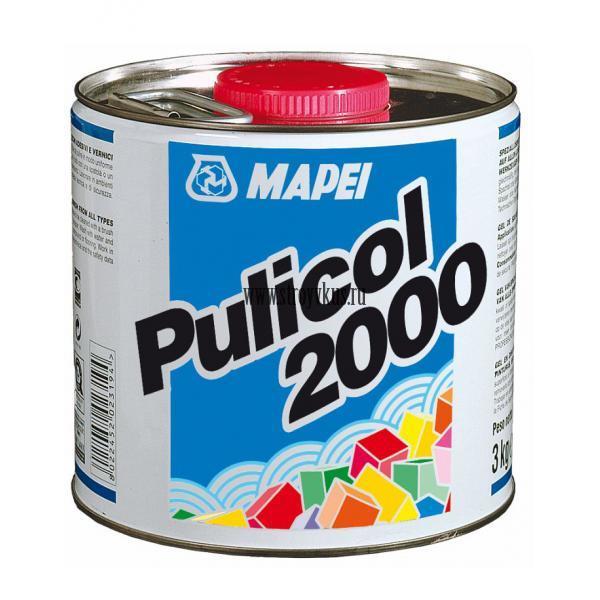 Mapei Pulicol 2000 Гель-смывка для удаления сильных загрязнений