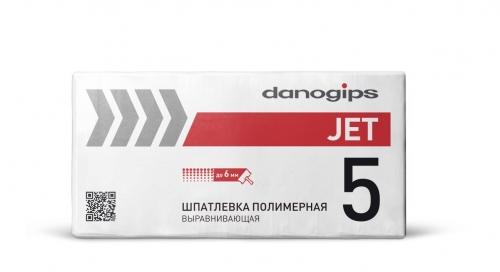 Danogips DANO JET 5 Финишная полимерная шпатлевка 20 кг