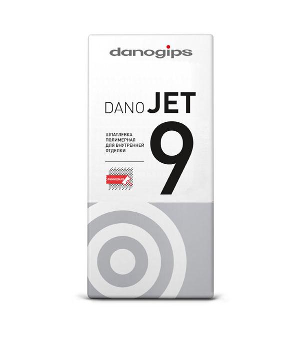 Danogips DANO JET 9 Финишная полимерная шпатлевка 25 кг