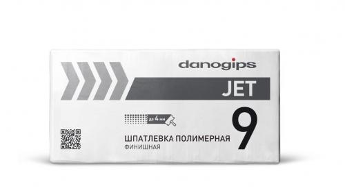 Danogips DANO JET 9 Финишная полимерная шпатлевка 20 кг