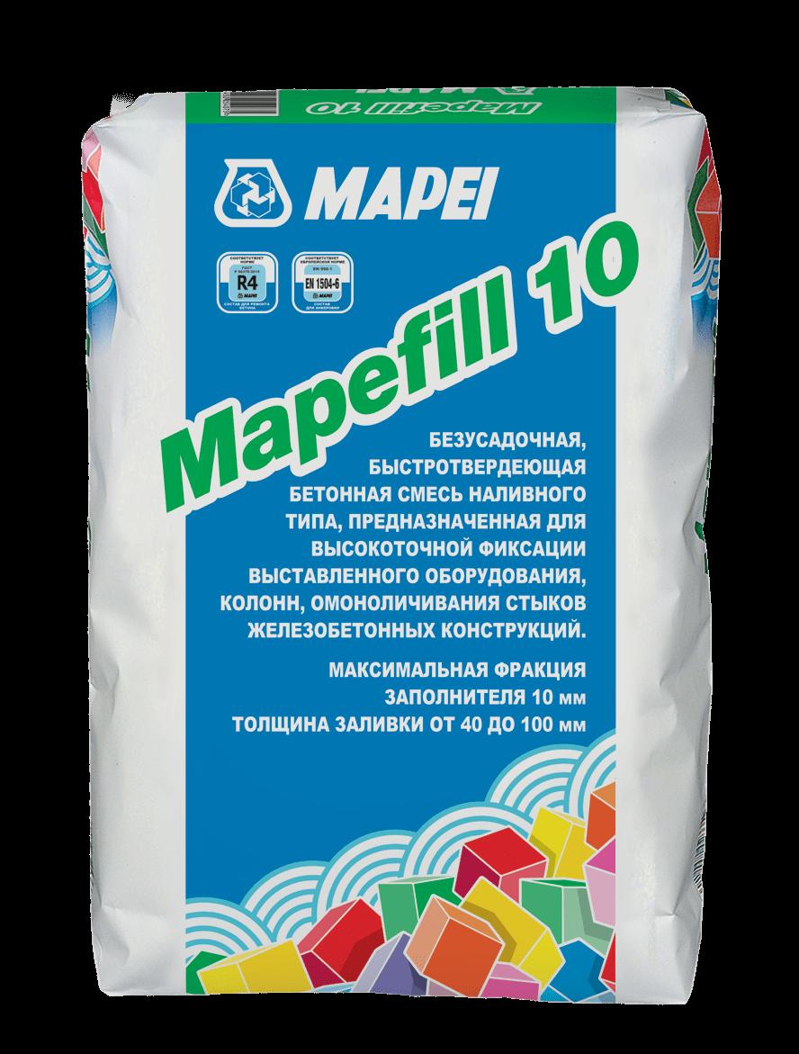 Mapei MAPEFILL 10 Безусадочная смесь для высокоточной фиксации и подливки