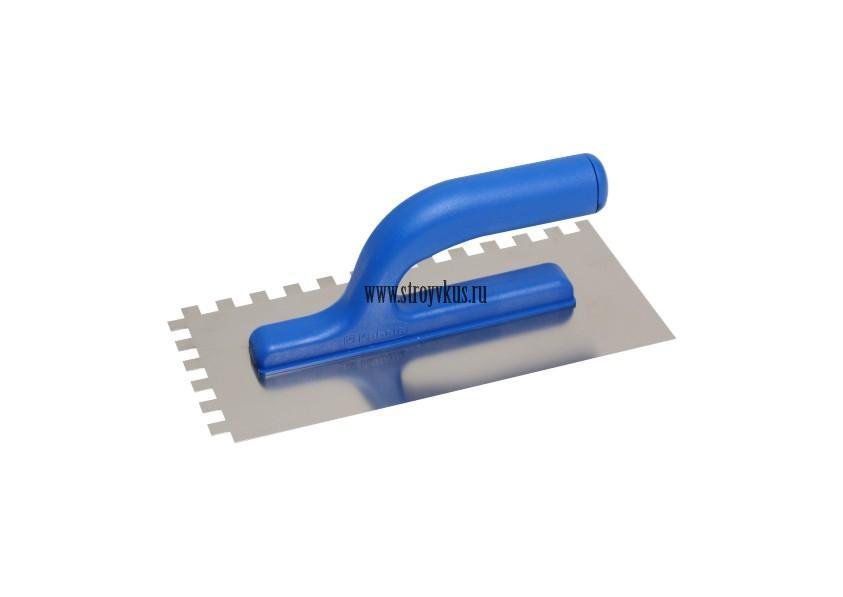 Терка нержавеющая зубчатая 130х270 мм
