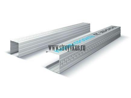 КНАУФ-профиль стоечный (ПС) металлический толщина 0,6мм 3 м