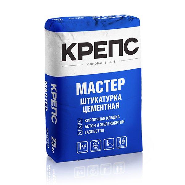 "Крепс Штукатурный состав ""Мастер"", 25 кг"