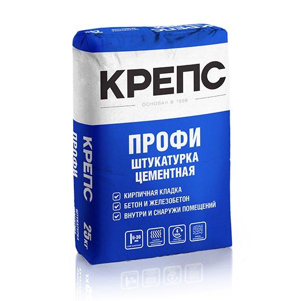 """Крепс Штукатурный состав """"Профи"""", 25 кг"""