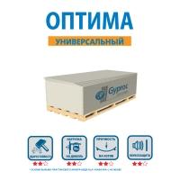 Gyproc ОПТИМА гкл 2500х1200х12,5 мм_2