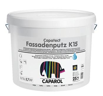 Capatect Fassadenputz /Фассаденпутц  Декоративная штукатурка на полимерной основе,   База 1