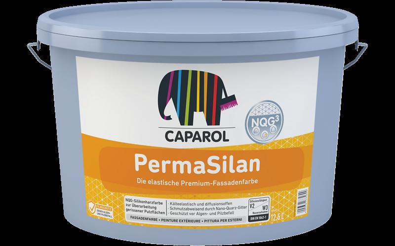 Caparol PermaSilan / ПермаСилан  Краска водно-дисперсионная для наружных работ, База 1, 10л