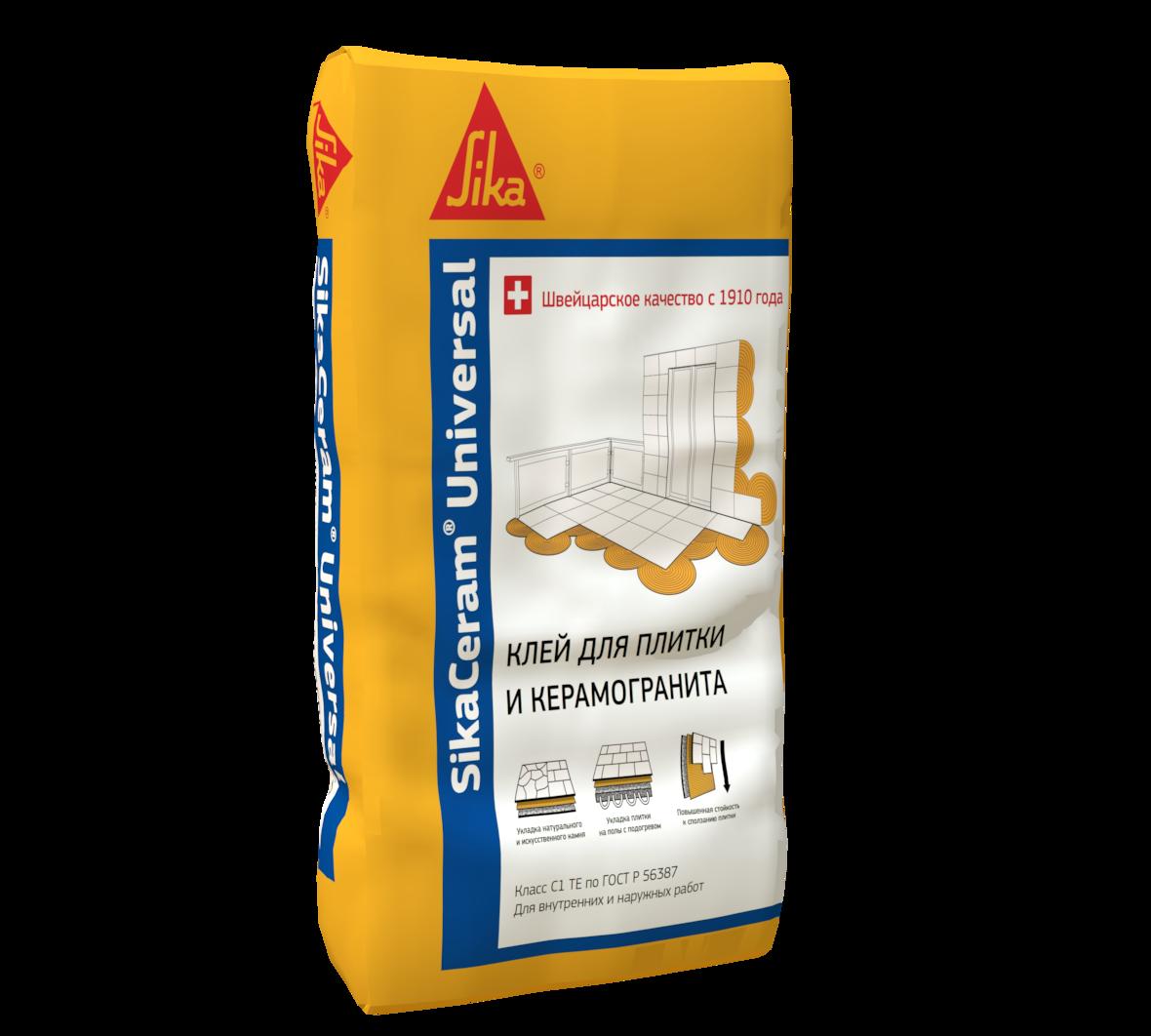 SikaCeram Universal Клей для плитки