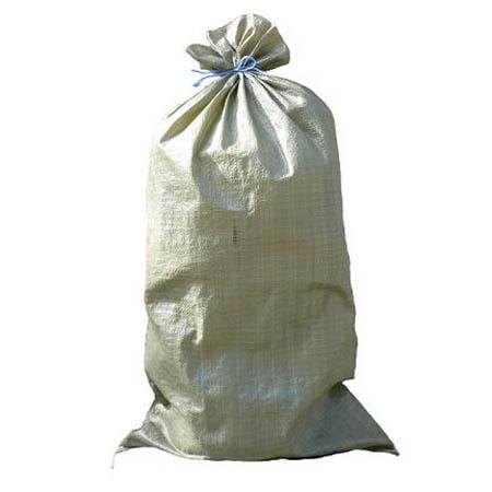 Мешок полипропиленовый зелёный 55*95 см
