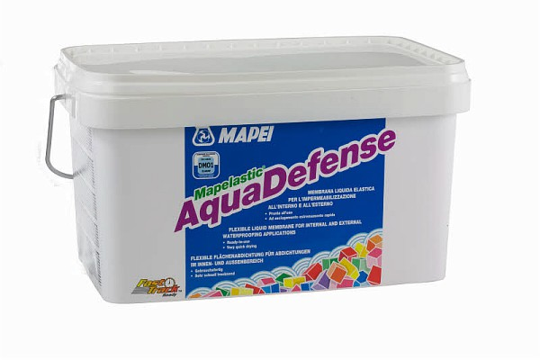 Mapei Mapelastic Aquadefense Жидкая гидроизоляционная мембрана, 7,5 кг