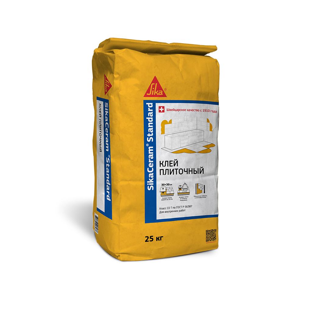 SikaCeram Standart Клей для плитки, 25 кг