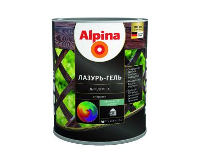 Alpina Лазурь гель для дерева
