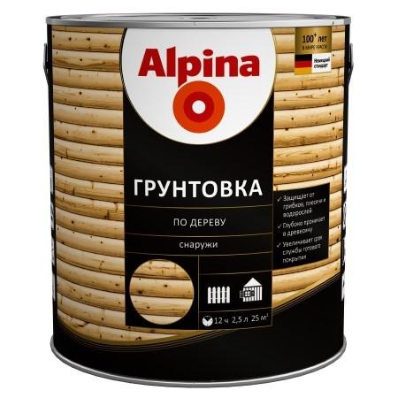 Alpina Грунтовка-антисептик по дереву
