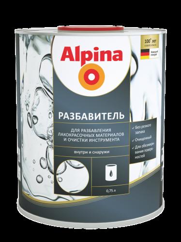 Alpina Разбавитель на основе уайт-спирита