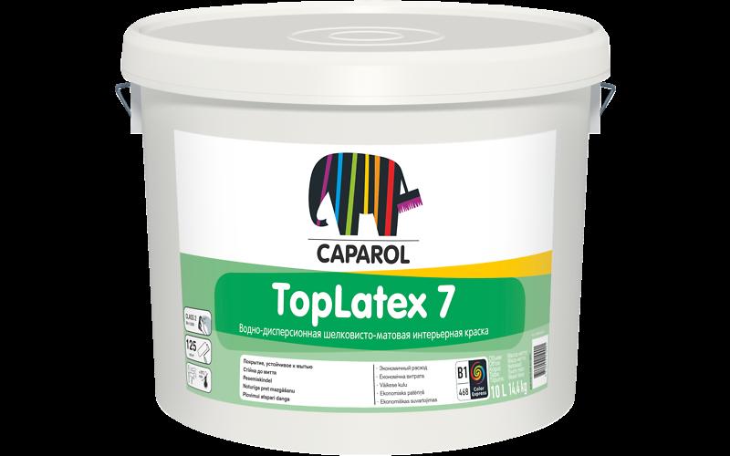 Caparol TopLatex 7 / ТопЛатекс 7 Краска шелковисто-матовая для внутренних работ