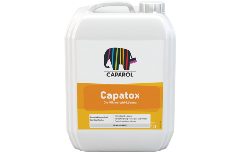 Caparol Capatox / Капатокс Водный микробиоцидный раствор , 1 л
