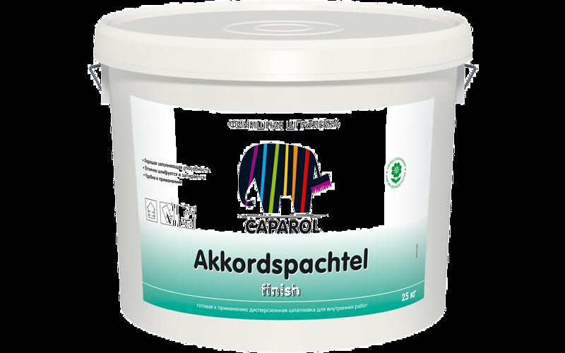 Caparol Akkordspachtel finish / Аккордшпахтель финиш Шпатлевка для внутренних работ, 25кг
