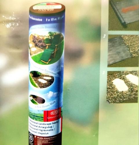 Professional Landscape Fabric Мембрана для профессионального ландшафтного дизайна,  рулон 1*15м