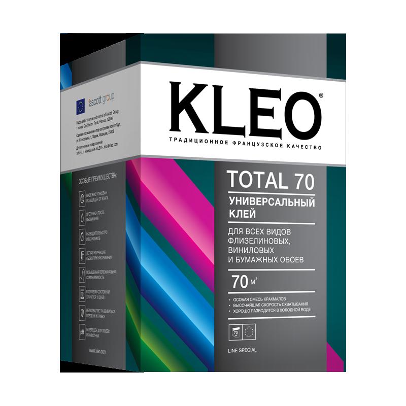 KLEO TOTAL 70 Клей для всех видов флизелиновых, виниловых и  бумажных обоев, 70 м2