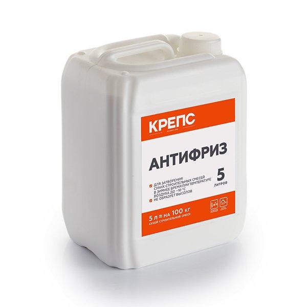 Крепс Антифриз противоморозная добавка в цементный раствор