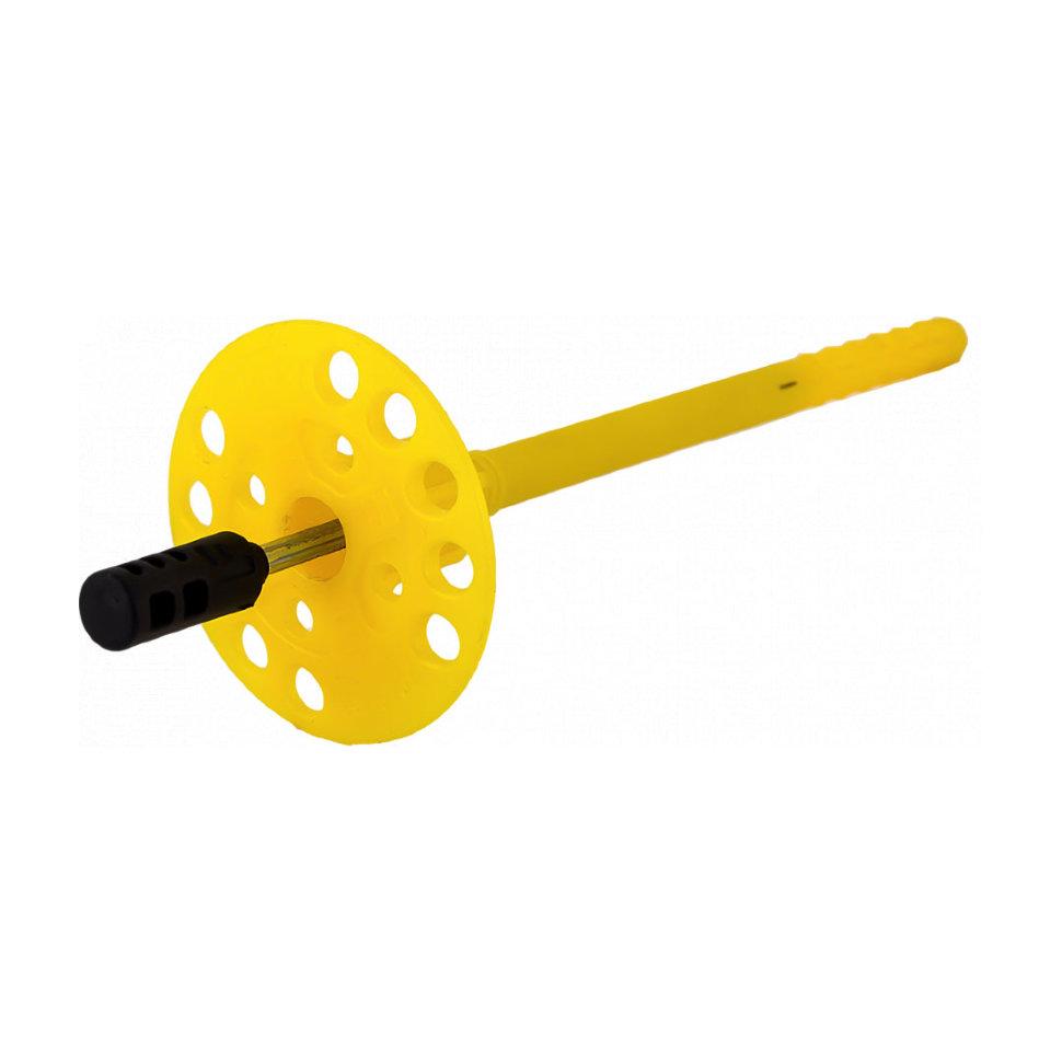 Bau-fix Дюбель тарельчатый Дюбель TDL8МТ со стальным распорным стержнем и термоголовкой ПРОФИ