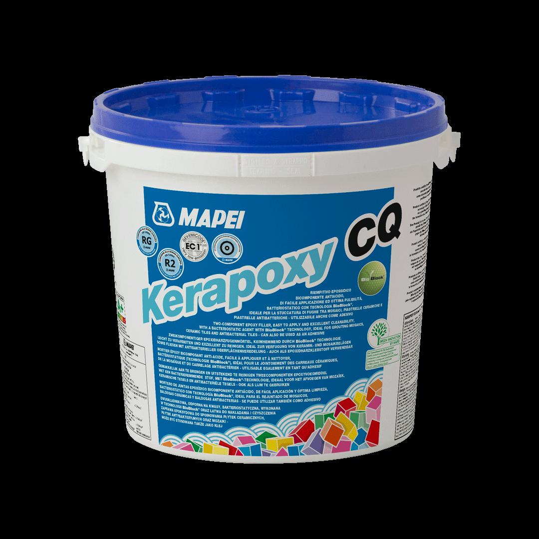 Mapei Kerapoxy CQ Двухкомпонентная эпоксидная затирка и клей